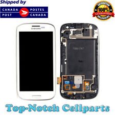Samsung Galaxy S3 Touch Screen Digitizer LCD with frame - White