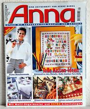 ANNA - Spass mit Handarbeiten 1/1999 - Tolle Kissen-Ideen