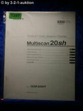 Sony Bedienungsanleitung GDM 20SHT Multiscan 20sh Graphic Display (#1397)