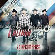 Calibre 50 CD NEW La Recompensa ALBUM Con 10 Canciones Y Corridos !