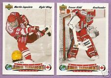 1991-92 Upper Deck Team Canada Junior Tourney Team Set
