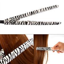 Women Charging Ceramic Mini Flat Iron Cordless Brush Hair Straightener Tool New