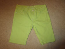 Shorts - Brooklyn Girl - Lime Green - Girl's - Sz 14