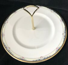 New ListingRoyal Doulton Rhodes Round Serving Plate With Center Handle
