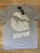 G Star New Mens Regular Fit Grey XXL T Shirt RRP £25