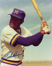 1970's BREWERS Cecil Cooper signed photo 8x10 AUTO Autographed Milwaukee