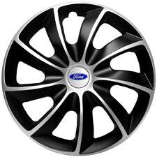 "16"" Wheel trims fit Ford Transit Custom Focus Galaxy 4 x16 inches  black silver"