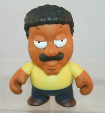 "Kidrobot 3"" Vinyl Figure - Family Guy - Cleveland Brown - Loose"