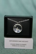 AVON SPEAK OUT AGAINST VIOLENCE EMPOWERMENT SHAKY NECKLACE