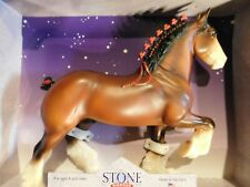 Peter Stone 2002 model horse Clyde Nib new old stock estate find collectible