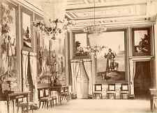 Huerta. Espagne, Escorial, intérieur à identifier  Vintage albumen print Tirag