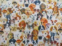 Design 74 white 100/% Cotton Prints Dress Craft Fabric 160cm quilting fabric