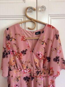 Dotti Size 14 Floral Playsuit Romper Oriental Print