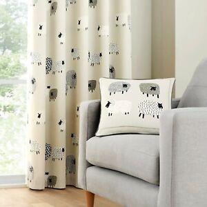 Fusion Dotty Sheep Natural Cushion Cover 43 cm x 43 cm