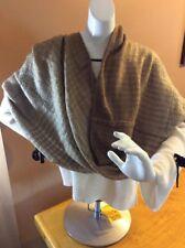 $48'Lauren Ralph Lauren Infinity Tan Scarf 23c