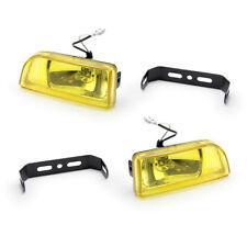 "For Universal Fog Light Spot Lamp H3 12V 55W Rainbow Yellow 2"" DLAA166 Yellow"