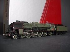 LEMACO HO 039/1 locomotive Vapeur 241 P 16 Brass Laiton comme Fulgurex état neuf