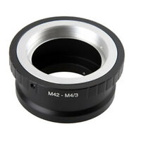 1Pc M42 Lens to Micro 4/3 M4/3 Adapter EP1 EP3 EPL1 EPL2 EPL3 G1 GF1 GH1 M42-M43