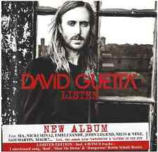 DAVID GUETTA - LISTEN: CD - Limited Deluxe Edition 2CD