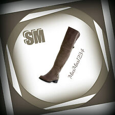 SM Women's Evette Taupe Over-the-Knee Boot - Size 8 - NEW - Fast Shipping