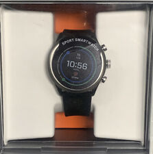 Open Box Fossil Smartwatch Black Silicone Band (FTW4019)