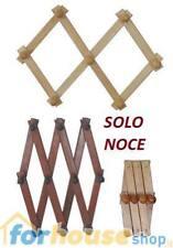 Appendiabiti legno estensibile 10 posti meeting