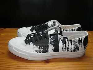 Converse Jack Purcell Ox Oxford Sneaker Printing Ink Painted Cork Sole 147581C