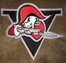 Rare Drummondville Voltigeurs QMJHL CHL CCM Hockey Jersey Front Patch Crests