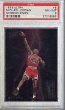 1993/94 Ultra Scoring Kings Michael Jordan #5 PSA 8