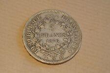 5 FRANCS HERCULE1876 A TTB
