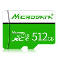 USA Micro- Flash Memory SD-Card U3 Class 10 High Speed & Adapter 512GB TF-Card