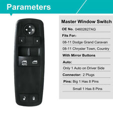 Master Window Switch Control For Dodge Grand Caravan Chrysler Town 04602627AG OE
