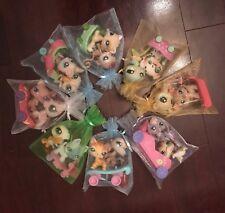 🚗 Littlest Pet Shop LPS 3pc Lot Random 2 Pets & 1 Ride Surprise Bag + Bonus✨