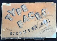Bournemouth - Type Faces Used by the Richmond Hill Printing Works Specimen Book