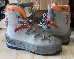 Asolo Hiking Snow Boots 101 Vibram Sole Men's Size 10 MM