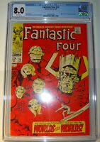 Fantastic Four #75 VF (CGC 8.0), Silver Surfer & Galactus, Jack Kirby art 1968