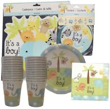 Jungle Theme, Its a boy baby shower Sets, 18 People