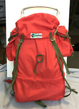 Vintage KARRIMOR Rucksack/Backpack Orange, Aluminium Frame. Excl condition