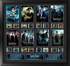 """HARRY POTTER Fantasy Movie Series 1- 8 FILM CELL and PHOTO MONTAGE 19"""" x 20"""" New"""