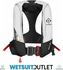 Crewsaver Crewfit 180N Pro Automatic Harness Lifejacket White Red 9025WRA Ski