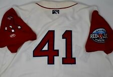 Boston Red Sox Salem Minor League 2009-2011 Game Used Jersey #41 incl. Volz