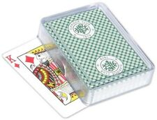 25 pcs - Poker Size Playing Card Plastic Box with Protective Sleeve
