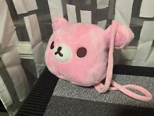 Pink Bear Head Handbag