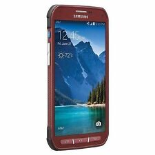 Samsung Galaxy S5 active G870A 16GB RED COLOR  AT&T unlocked shadow screen