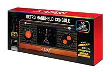 Atari Retro Handheld Console with 50 games Boxed New Wood Grain effect