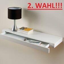 Duraline XL5 Wandregal mit Schublade Regal Wandboard Weiss Lackiert 80x25 2.WAHL