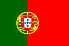 """4x Autocollants de voiture, Sticker """" Portugal - drapeau """" (8 cm)"""