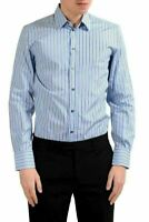 "Dolce & Gabbana ""Martini"" Men's Striped Long Sleeve Dress Shirt US 15 IT 38"