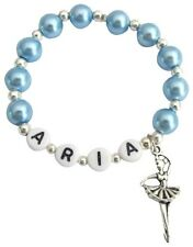 Ballerina Personalized Ballet Group Dance Gift Blue Pearls