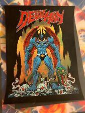 Devilman Mondo Poster Art Print Go Nagai Mike Sutfin Limited Edition Screenprint